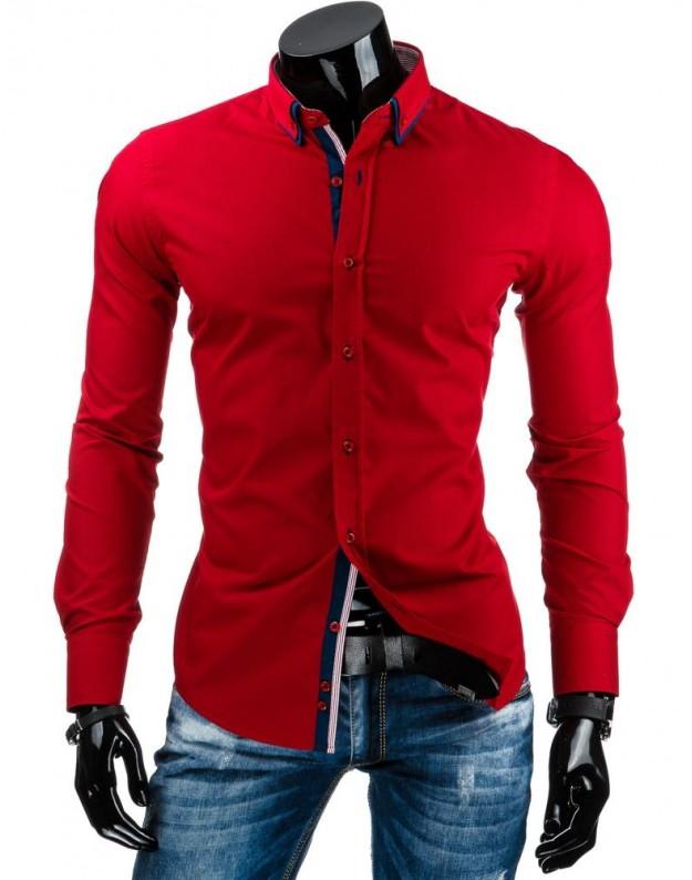 Marškiniai Karolis (Raudoni)