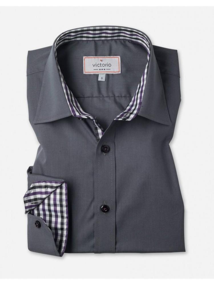 Medvilniniai marškiniai (Pilka)
