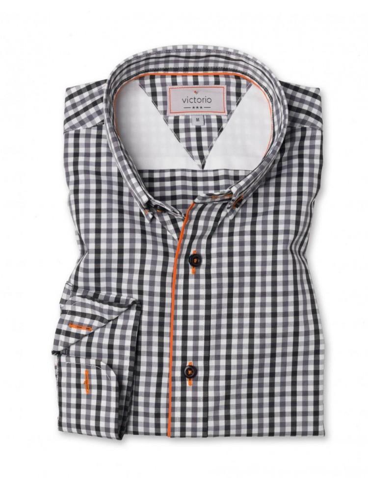 Vyriški medvilniniai marškiniai (Balta)