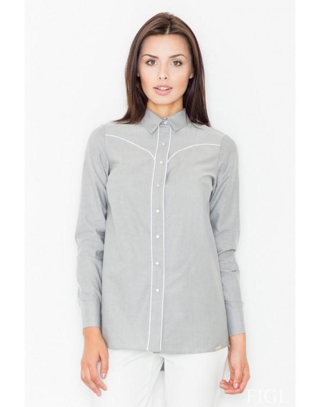 Marškinėliai Marietė (Pilka)