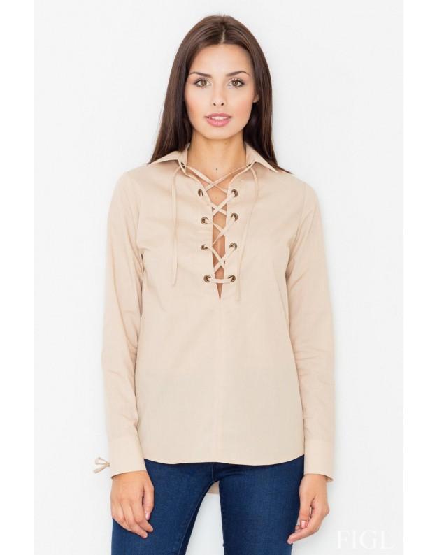 Marškinėliai Lexi (Rusvai gelsvas)