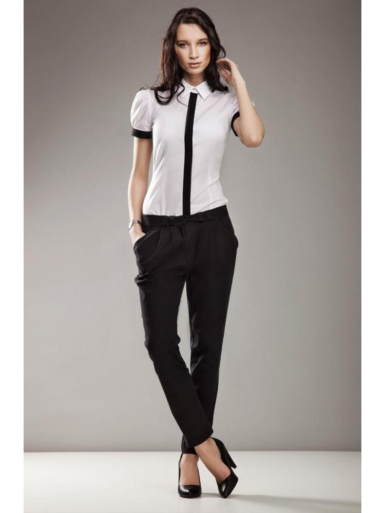 Marškinėliai trumpomis rankovėmis (Balti)
