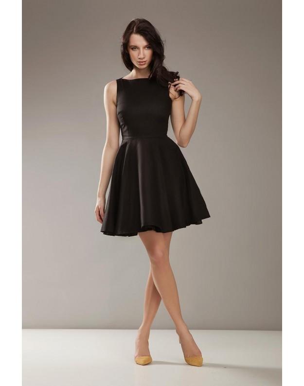 """Stilinga suknelė """"Audra"""" (Juoda)"""