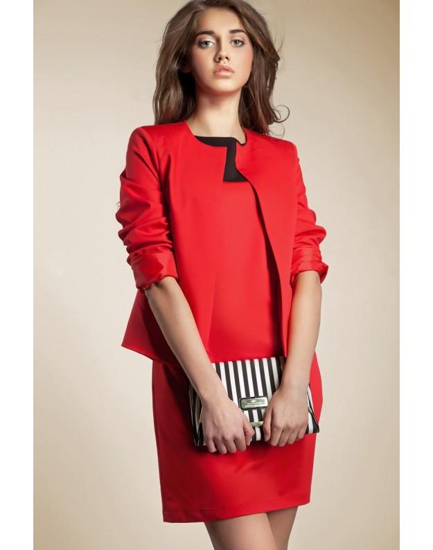Elegantiškas švarkelis (Raudonas)