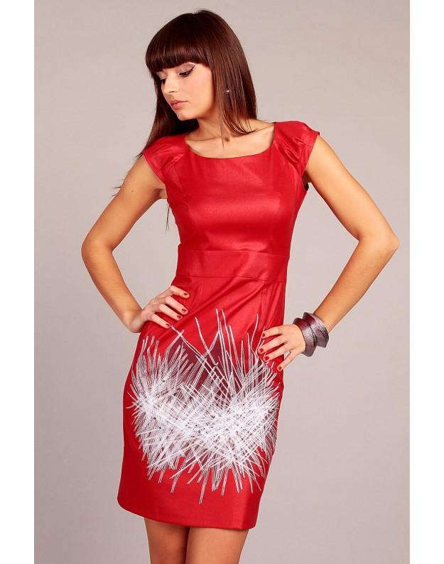 Suknelė Denise (Raudona)