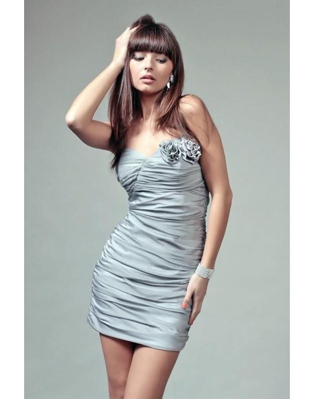 """Suknelė """"Brigita"""" (Sidabro spalvos)"""