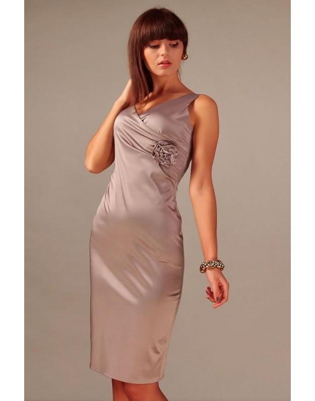 """Suknelė """"Afroditė"""" (Kapučino spalvos)"""