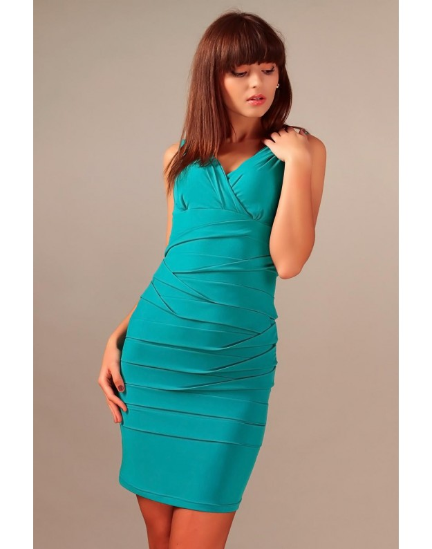 Elegantiška suknelė 'Margo' (Turkio spalvos)