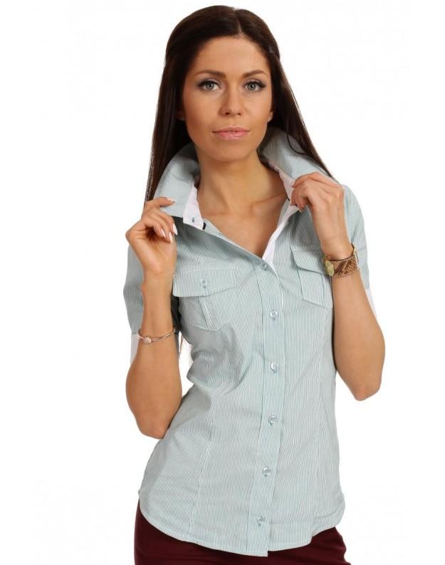 """Marškinėliai """"Liucija"""" (Žalsvi)"""