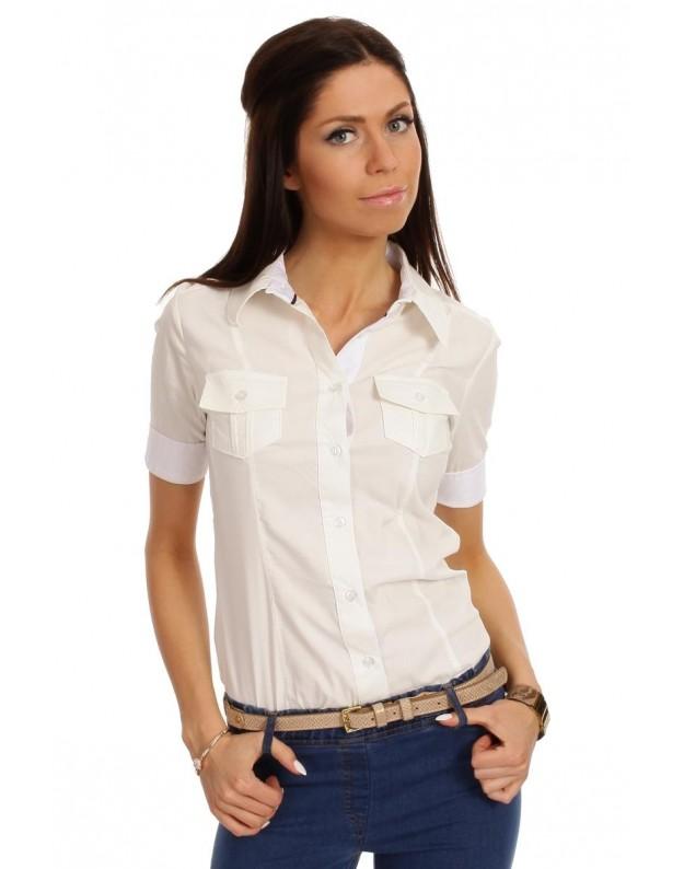 """Marškinėliai """"Liucija"""" (Balti)"""